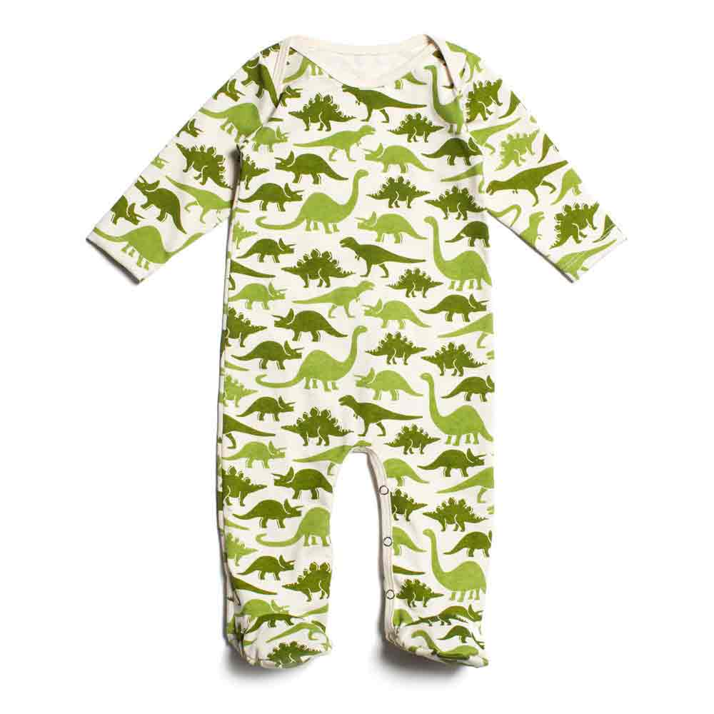 Dinosaur Long Sleeve Romper