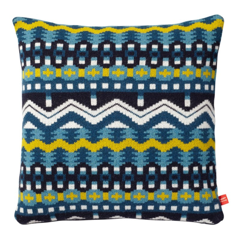 Artic Cushion Blue/Yellow