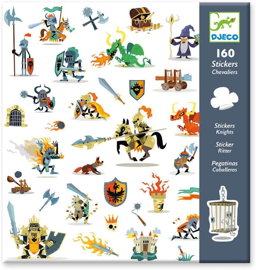 160 Sticker Chevaliers