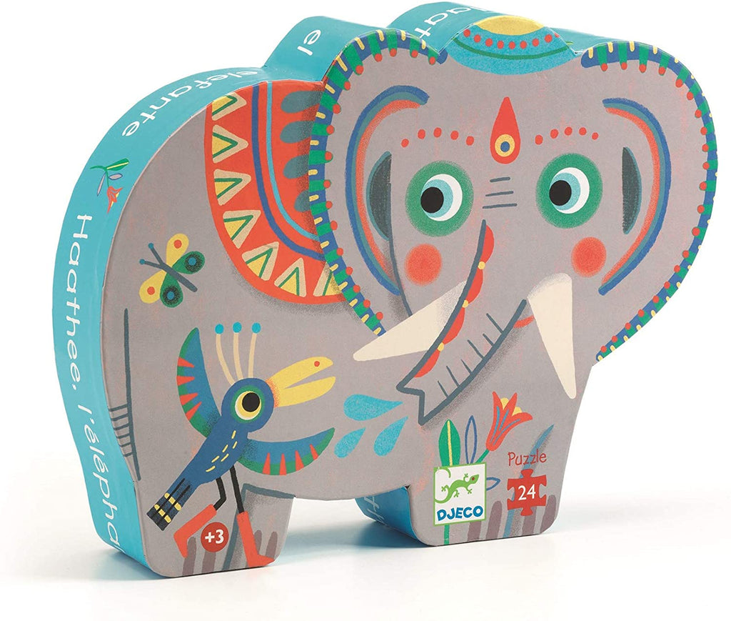 Asian Elephant 24 pieces