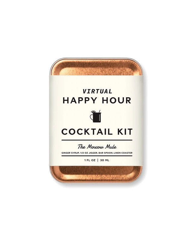 The Moscow Mule Virtual Happy Hour Cocktail Kit
