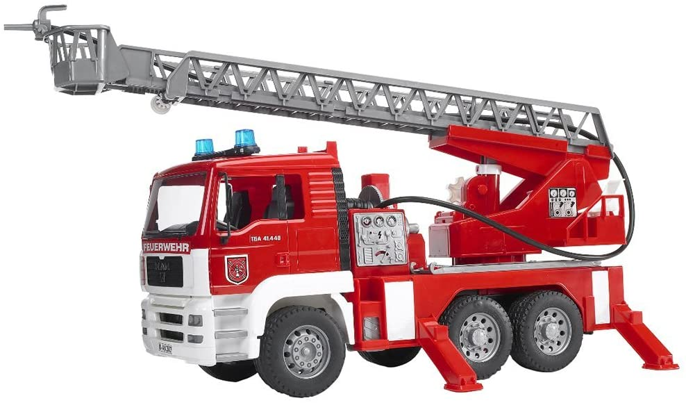 Fire Engine with Water Pump, and Light & Sound