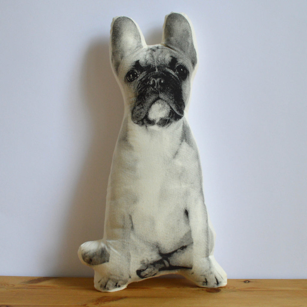 Silkscreen French Bulldog Pillow