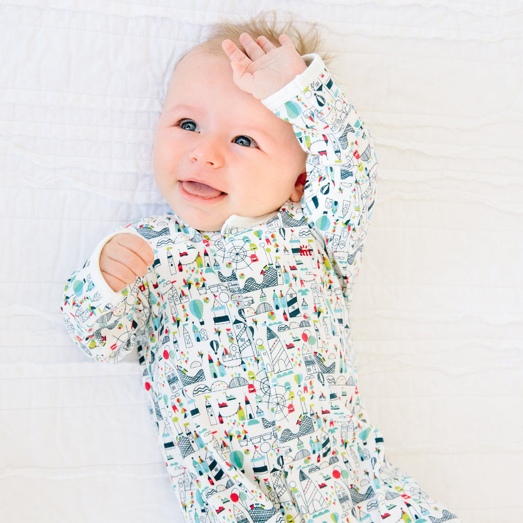 Fun Fair Organic Cotton Magnetic Footie