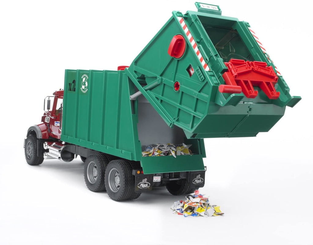 Mack Granite Rear Loading Garbage Truck