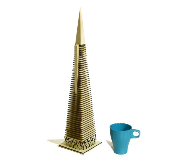 TransAmerica Pyramid model kit