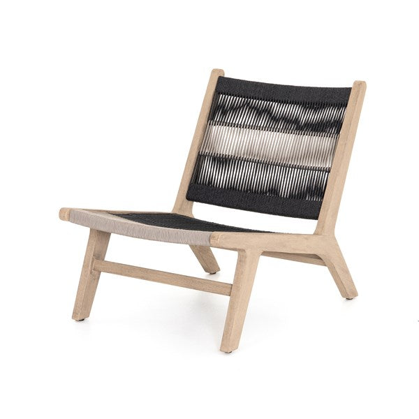 Julian Outdoor Chair-Washed Brown