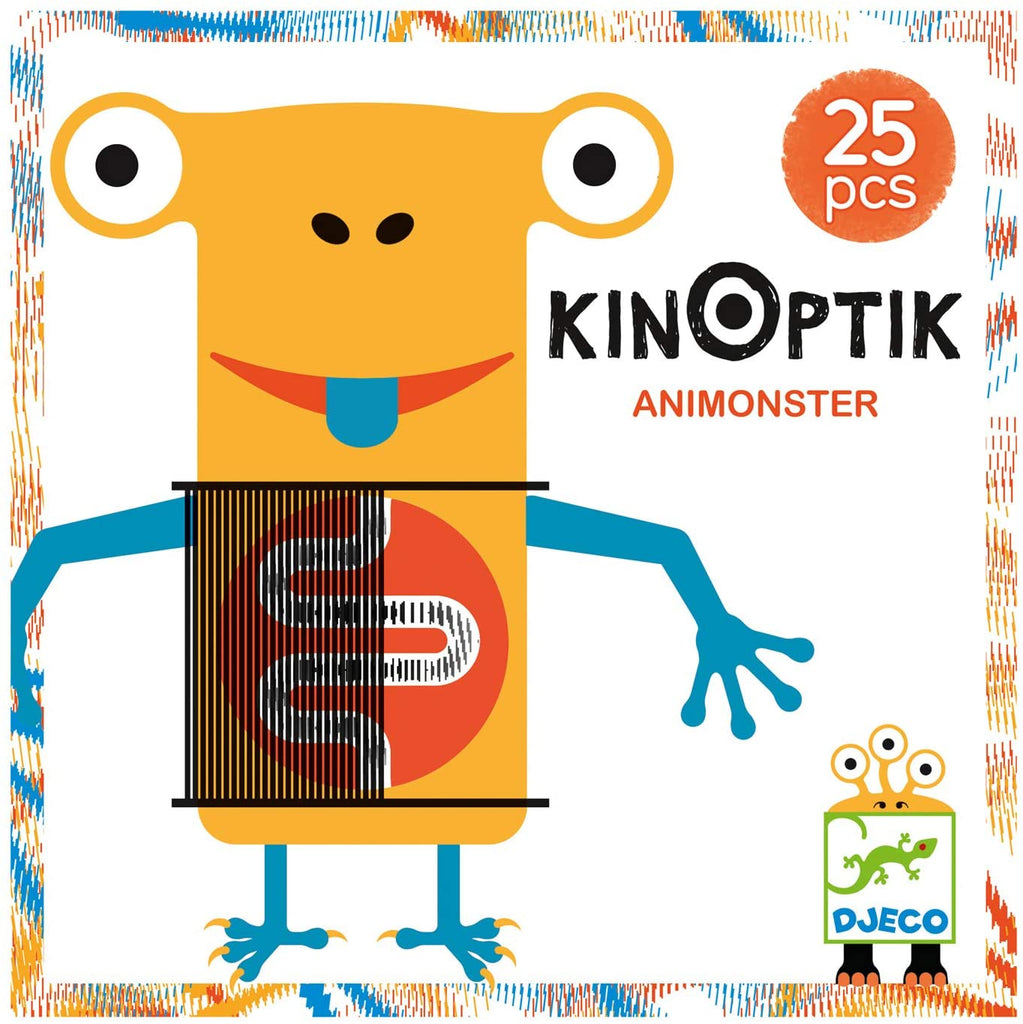 Kinoptik Animonster 25 pieces