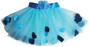 Forget-Me-Not Blue Flower Essential Tutu