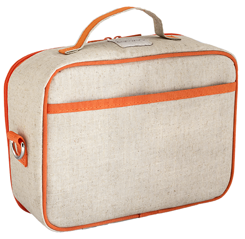 Orange Fox Lunch Box