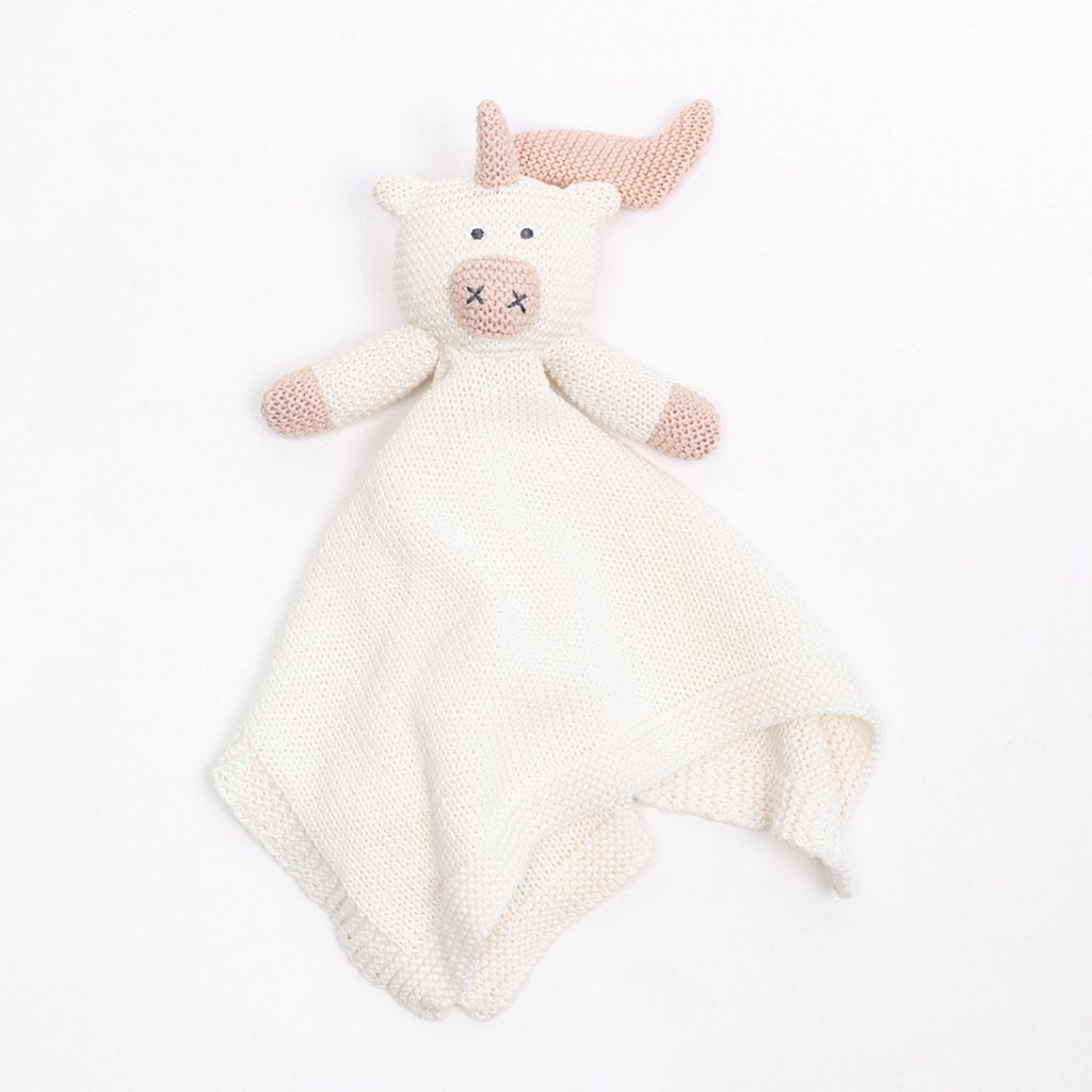 Organic Cotton Lovey Unicorn