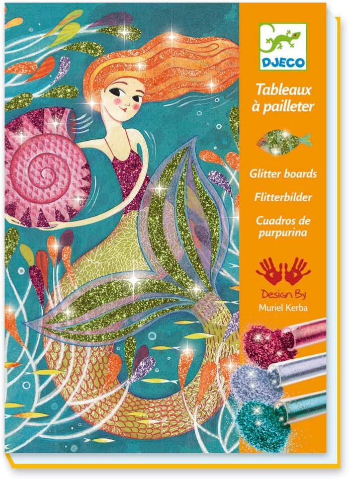 Mermaids Glitter Board Kit