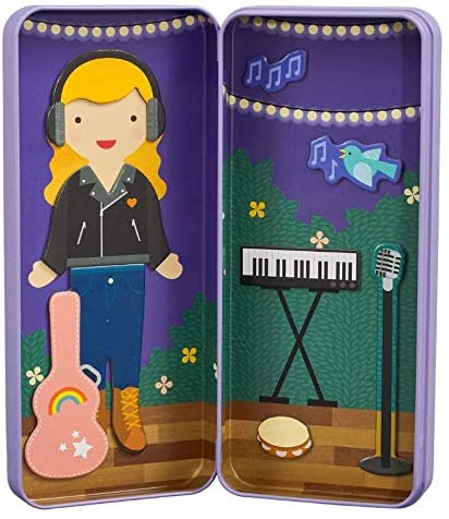 Music maker magnetic dress up kit