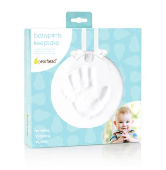 Babyprints Hanging Keepsake, White