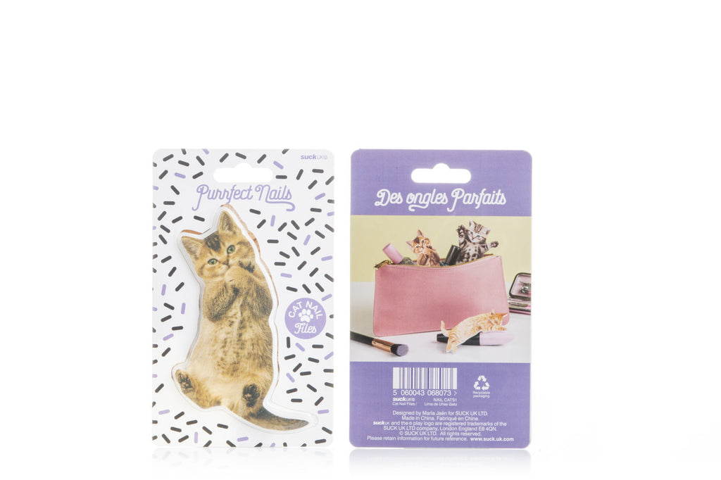 Purrfect Nails Cat Shapped Nail Files