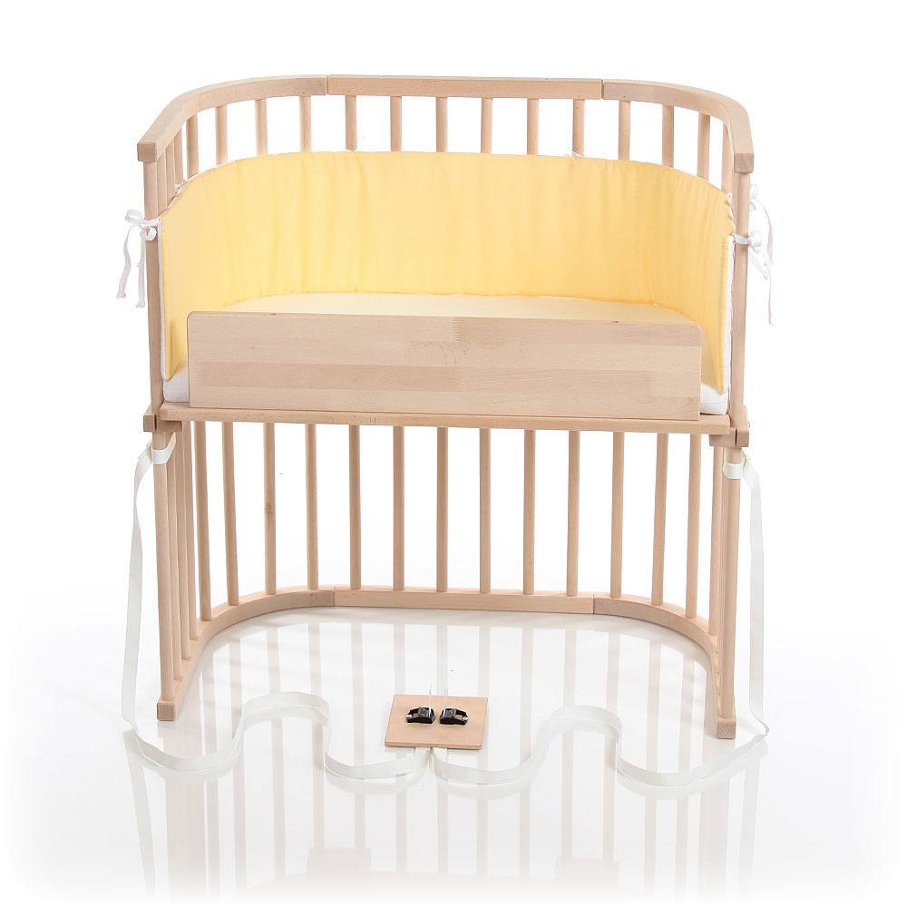 babybay Bedside Sleeper - Untreated Finish