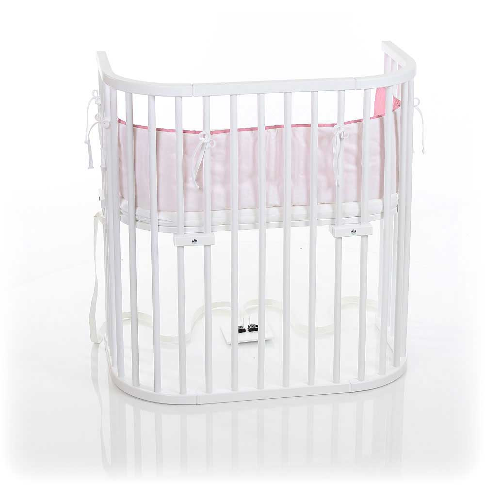 babybay Bedside Sleeper - Pure White Finish