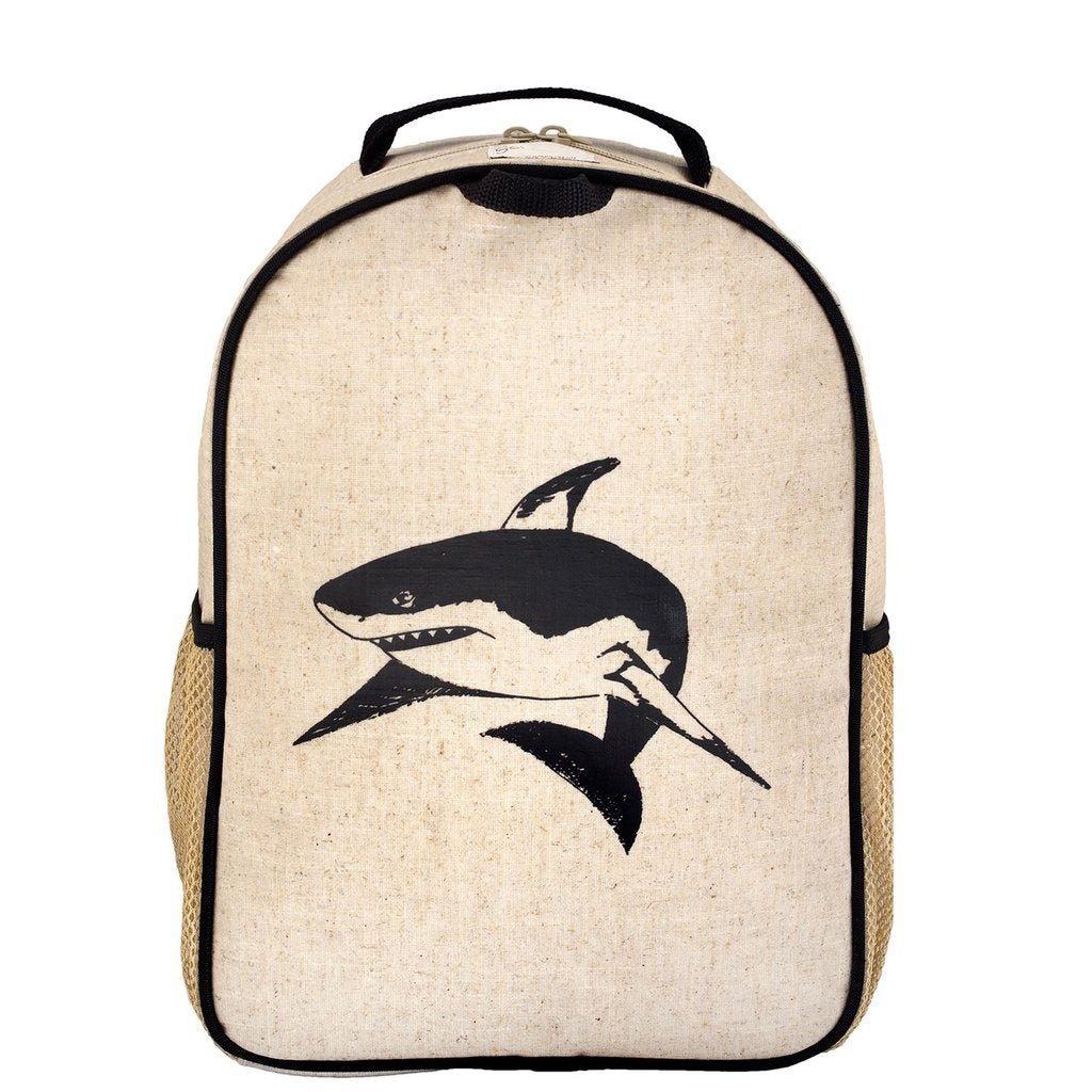 Black Shark Toddler Backpack