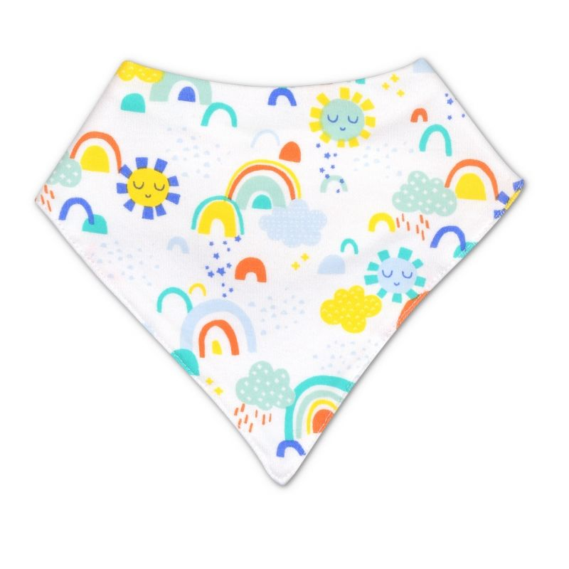 Organic Cotton Bandana Bib – Sunshine