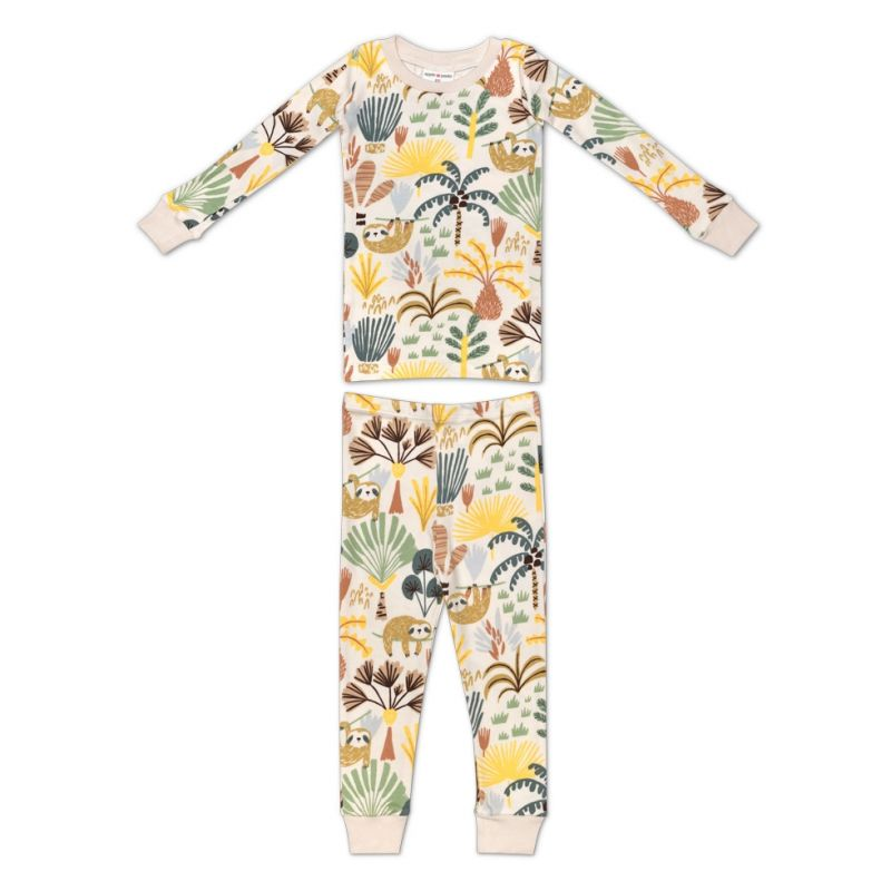 Organic Cotton Pajama - Sloth
