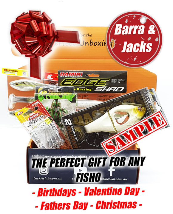 Saltwater Barra & Jacks Box Gift box