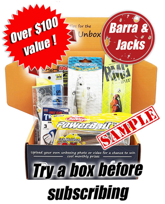 Saltwater Barra & Jacks Box one off lure box