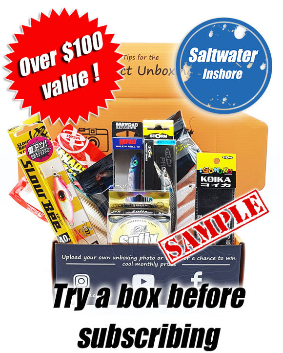 Saltwater Inshore Box One off sample