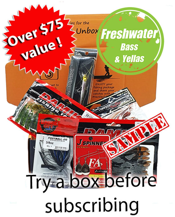Freshwater Bass & Yellas One Off Box
