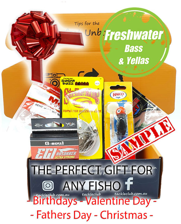 Freshwater Bass & Yellas Box gift box