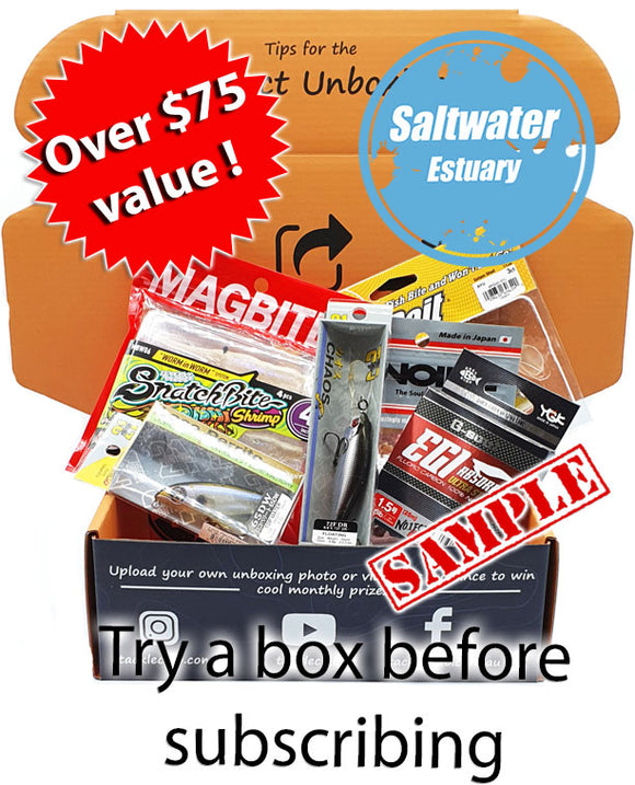 Saltwater Estuary Box one off lure box