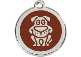Red Dingo Dog Tag Dog Tag Dog- Jurassic Bark Pet Store Littleport Ely Cambridge