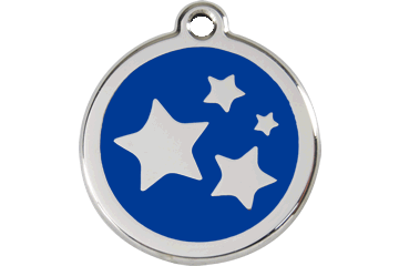 Red Dingo Dog Tag Stars Tag Dog- Jurassic Bark Pet Store Littleport Ely Cambridge