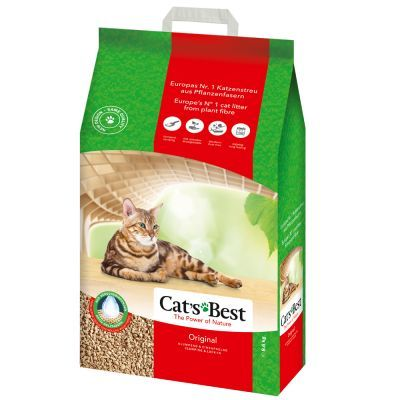 Buy Cats Best Okoplus Wood Cat Litter