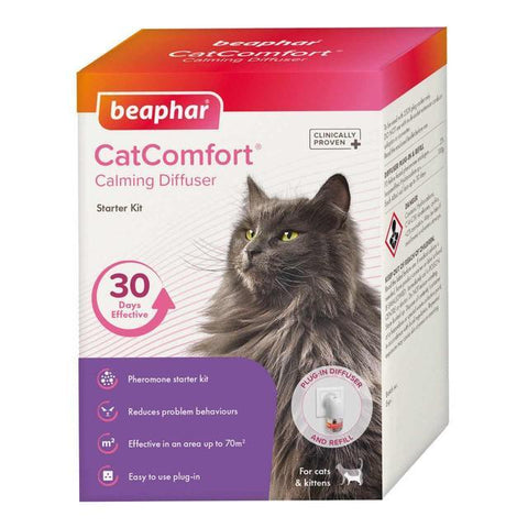 Beaphar CatComfort Calming Diffuser Starter Kit Beaphar- Jurassic Bark Pet Store Littleport Ely Cambridge