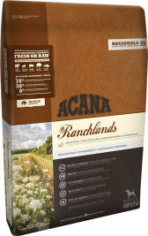 Acana Ranchlands Dog Dog Food Dry- Jurassic Bark Pet Store Littleport Ely Cambridge