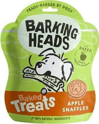 Barking Heads Apple Snaffles 100g Dog- Jurassic Bark Pet Store Littleport Ely Cambridge