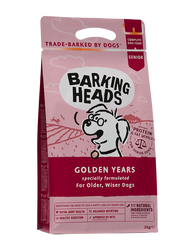 Barking Heads Golden Years Dog- Jurassic Bark Pet Store Littleport Ely Cambridge