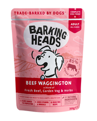 Barking Heads Beef Waggington 300g dog food wet- Jurassic Bark Pet Store Littleport Ely Cambridge