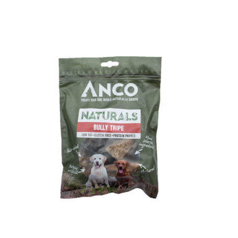 Anco Naturals Bully Tripe 135g Dog Treats- Jurassic Bark Pet Store Littleport Ely Cambridge