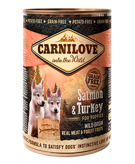 CARNILOVE SALMON & TURKEY FOR PUPPIES - Jurassic Bark Pet Store Littleport Ely Cambridge