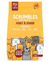 Scrumbles Chicken dry cat food