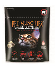 Pet Munchies Cat Treats - Gourmet Beef Liver 10g Cat- Jurassic Bark Pet Store Littleport Ely Cambridge