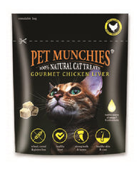 Pet Munchies Cat Treats - Gourmet Chicken Liver 10g Cat- Jurassic Bark Pet Store Littleport Ely Cambridge