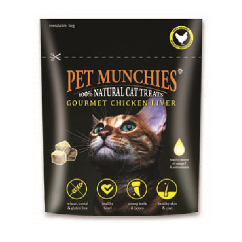 Pet Munchies Cat Gourmet Chicken Liver Treats Cat Treats- Jurassic Bark Pet Store Littleport Ely Cambridge