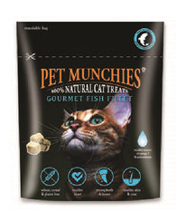 Pet Munchies Cat Treats - Gourmet Fish Fillet 10g Cat- Jurassic Bark Pet Store Littleport Ely Cambridge