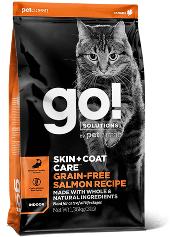 Go! Solutions - Salmon Recipe Cat Food - Jurassic Bark Pet Store Littleport Ely Cambridge