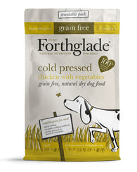 Forthglade Chicken Grain Free Cold Pressed Dog Food Dog Food Dry- Jurassic Bark Pet Store Littleport Ely Cambridge