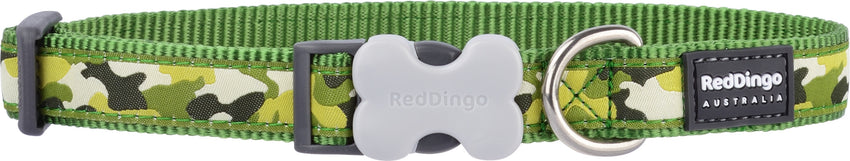Red Dingo Camouflage Dog Collar