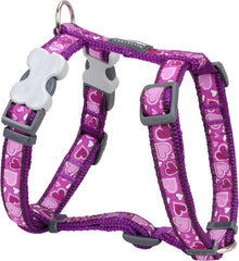 Red Dingo Breezy Love Dog Harness Dog Harness- Jurassic Bark Pet Store Littleport Ely Cambridge