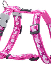 Red Dingo Pink Camouflage Dog Harness Harness Dog- Jurassic Bark Pet Store Littleport Ely Cambridge